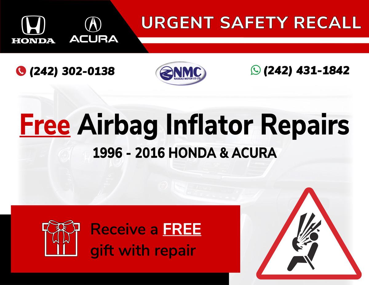 Airbags repair